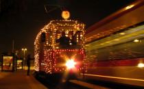Świąteczny tramwaj od środy na torach