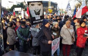 KOD demonstrował w Gdańsku