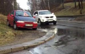 Po awarii samochodu nie utrudniajcie ruchu