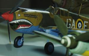Pasjonat myśliwców II wojny światowej