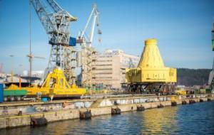 500-tonowa konstrukcja popłynie na Morze Północne