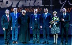 Prezydent Duda na 90. urodzinach Gdyni