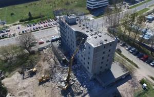 Wyburzanie byłej siedziby Nordei rozpoczęte