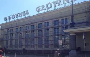 Naprawy na dworcu w Gdyni jeszcze w ramach gwarancji