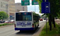 Kilkaset aut dziennie na buspasie w centrum Gdyni