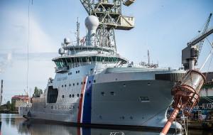 """Islandzki okręt """"Thor"""" przechodzi remont w gdańskiej stoczni"""