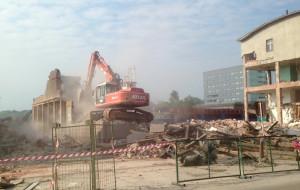 Wyburzanie budynków na byłym terenie Dalmoru rozpoczęte