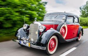 Przepiękne mercedesy odwiedzą Gdańsk