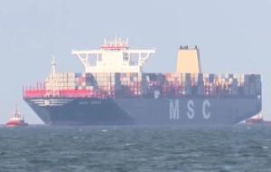 Gigantyczna MSC Maya zawinęła do Gdańska