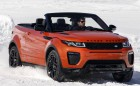 Range Rover Evoque teraz bez dachu