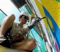 Tak powstają nowe murale na Zaspie