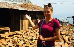 Rzuciła wszystko i pojechała do Nepalu budować szkołę