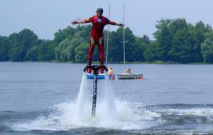 Hydro-odrzutowe zawody przy Plaży Gdynia Śródmieście