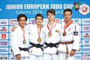 Judoka z Gdyni na podium Pucharu Europy