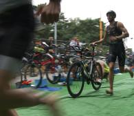 W gdańskim triathlonie pokonali dystans olimpijski