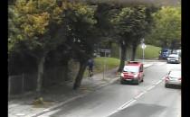 Pościg za rowerzystą po ulicach Gdyni
