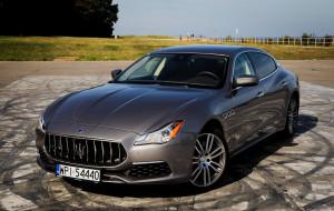 Maserati Quattroporte: włoska symfonia dla uszu