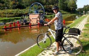 Pochylnie Kanału Elbląskiego z roweru