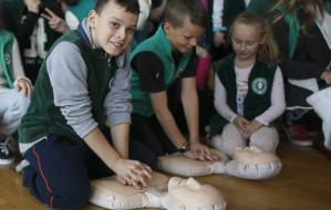 Uczniowie bili rekord Guinnessa w resuscytacji