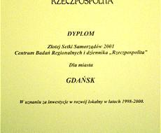 Gdańsk w złotej setce