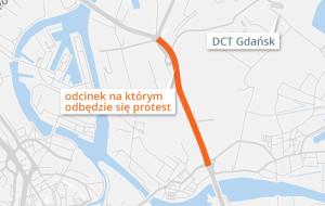 Protest kierowców ciężarówek może sparaliżować Trasę Sucharskiego
