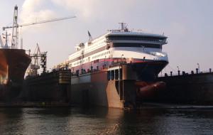 Remontowa zmodernizuje dwa promy P&O Ferries