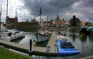 Ekstremalne pływanie w sercu Gdańska