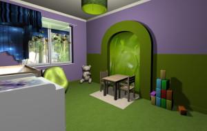 Mieszkanie Magdy z pokojem dla dziecka
