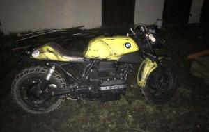 Mikołaj odzyskał skradziony motocykl