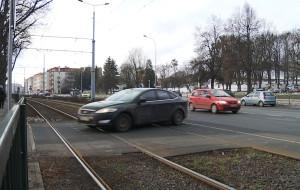 Niebezpieczne skrzyżowanie na Kartuskiej w Gdańsku