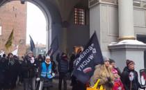 Kobiecy protest przeciwko przemocy