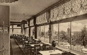 Dawna restauracja z widokiem na Zatokę Gdańską. Historia Café Zinglershöhe