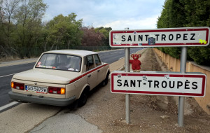 Wartburgiem przez Europę do St.Tropez