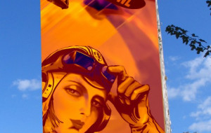 Namaluj (legalnie) mural  na Zaspie