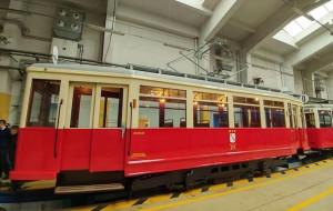Przedwojenny gdański tramwaj w Krakowie
