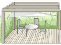 Aranżacje ogrodów. Ogródek przy mieszkaniu w bloku