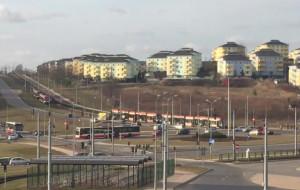 Zderzenie tramwajów przy pętli na Łostowicach