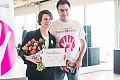 Maja Ostaszewska odwiedziła Trójmiasto i wsparła gdańską fundację