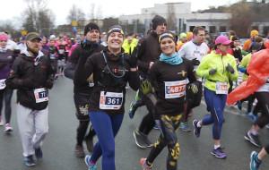 Przebiegli półmaraton ulicami Gdyni