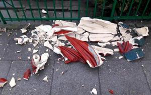 Zniszczono figurę Chrystusa w Oliwie