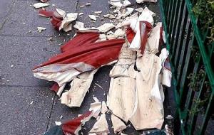Zatrzymali nastolatków, którzy zniszczyli figurę Chrystusa