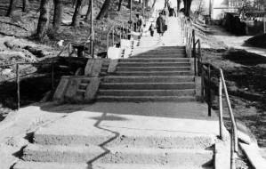 Jedne z najdłuższych schodów w Trójmieście doczekały się remontu