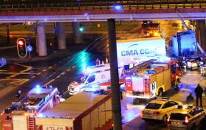 Nocny wypadek w Gdyni. Trzy osoby ranne
