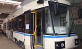 Nowy-stary tramwaj w przedwojennym malowaniu
