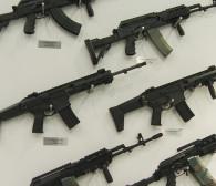 Broń na targach dla policji i formacji bezpieczeństwa