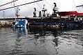 Wypadek w stoczni Nauta. Dok zatonął wraz ze statkiem