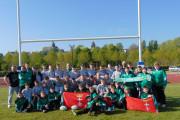 Biało-zieloni grali we Francji z najlepszymi