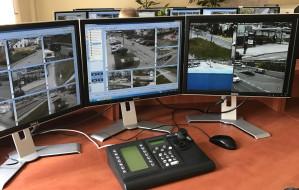 Z kamerą w gdyńskim centrum monitoringu wizyjnego