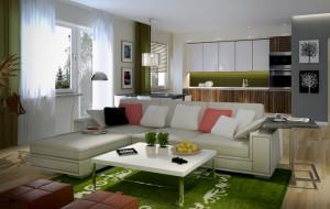 Dwupoziomowe mieszkanie a marzenia o domku