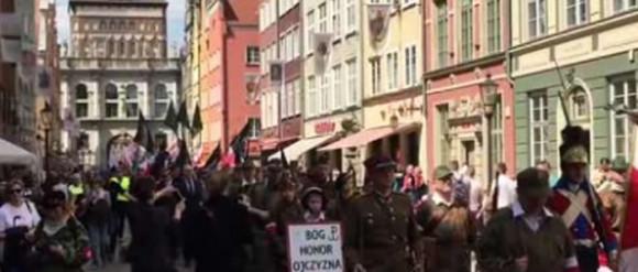 W Gdańsku przeszedł marsz dla rotmistrza Pileckiego
